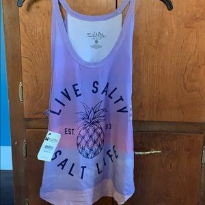 Woman's Salt Life Halter Tank top. Size small.